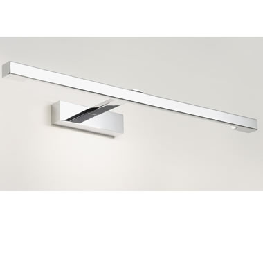 Astro kashima620 0961 1 light ip44 bathroom mirror light Polished chrome bathroom mirrors